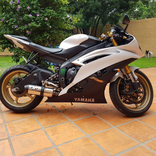 yamaha yzf r6-100% financiado en pesos - impecable estado
