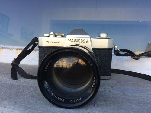 yashica tl-super, camara de coleccion japonesa