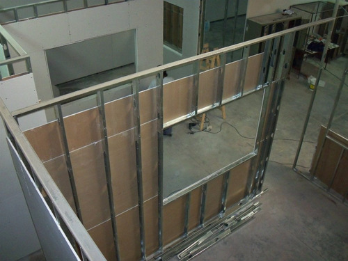 yeso pared cieloraso tabique $450m² producto instalado