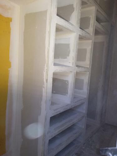 yeso steel framing cielorraso desmontable pvc pintura