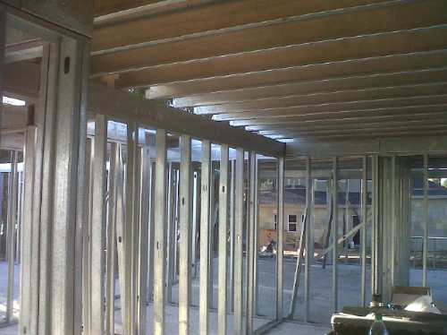 yeso steel framing pvc tabiques  cielorraso pintura int ext