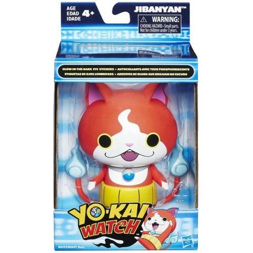 yo kai muñeco con etiquetas de ojos luminosos hasbro b6047r