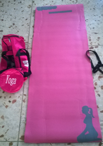 yoga mat colchoneta pilates neoprene espes. 10mm fitness gym