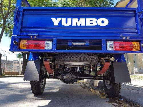 yumbo cargo 125 - empadronamiento - 36 cuotas - bike up