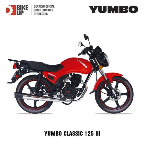 yumbo classic 3 - garantia extendida - permutas - 36 cuotas