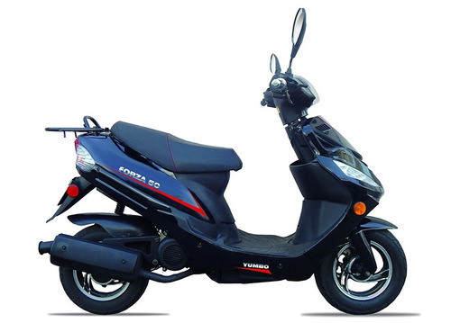 yumbo forza 50 scooter negra