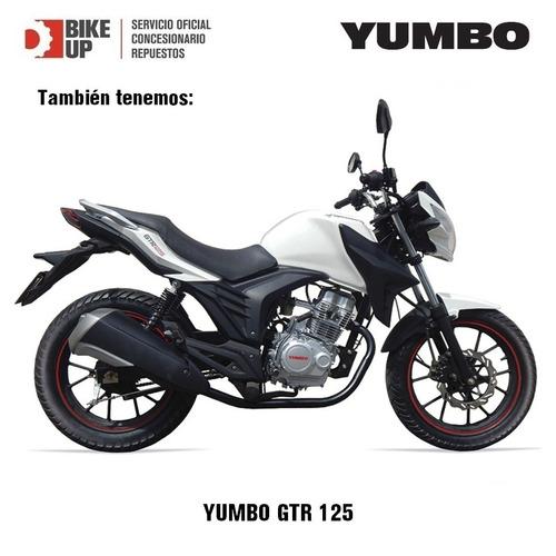 yumbo gs 125 - garantia extendida - financiacion - permutas