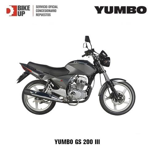 yumbo gs 200 - tomamos tu usada - empdrona gratis - bike up