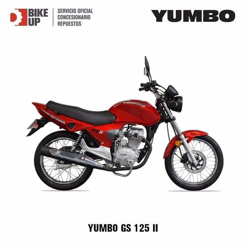 yumbo gts - financiacion - permutas - beneficios - bike up