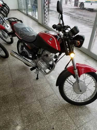 zanella rx150g3 roja griz