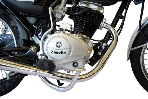 zanella sapucai 125 - financiada con cédula! entrega ya!