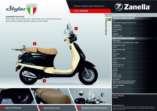 zanella styler exclusive 125