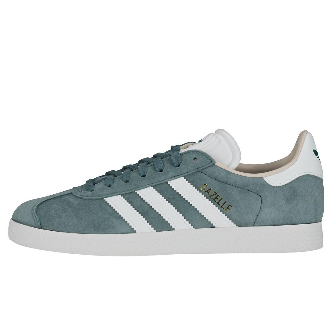 zapatillas adidas gazelle verdes mujer