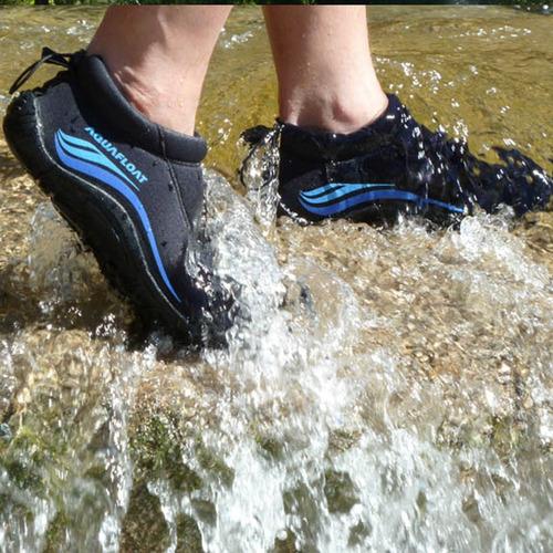 zapatillas aquafloat anfibias de neoprene deportes nauticos