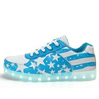 zapatillas con led