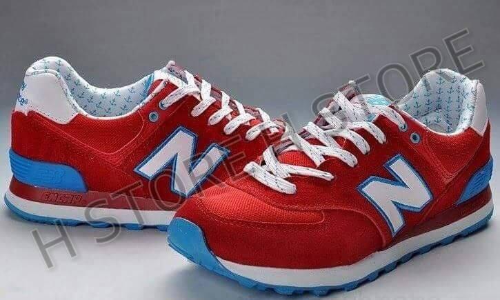 zapatillas new balance rojas hombre