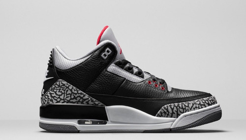 8d66227276d 4 zapatillas nike air jordan retro 3 og black cement 2018. Cargando zoom.  ...