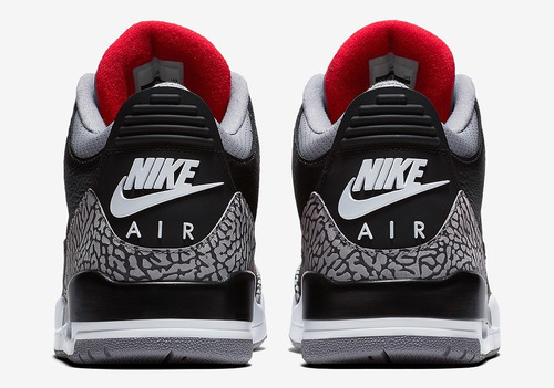 6ebb1413927 air jordan iii retro black cement 2018. cargando zoom