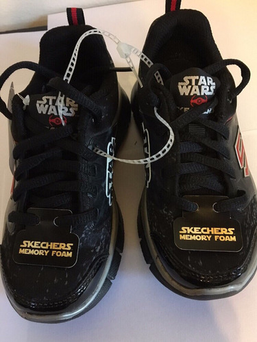 zapatillas skechers, star wars - importadas de usa!!!