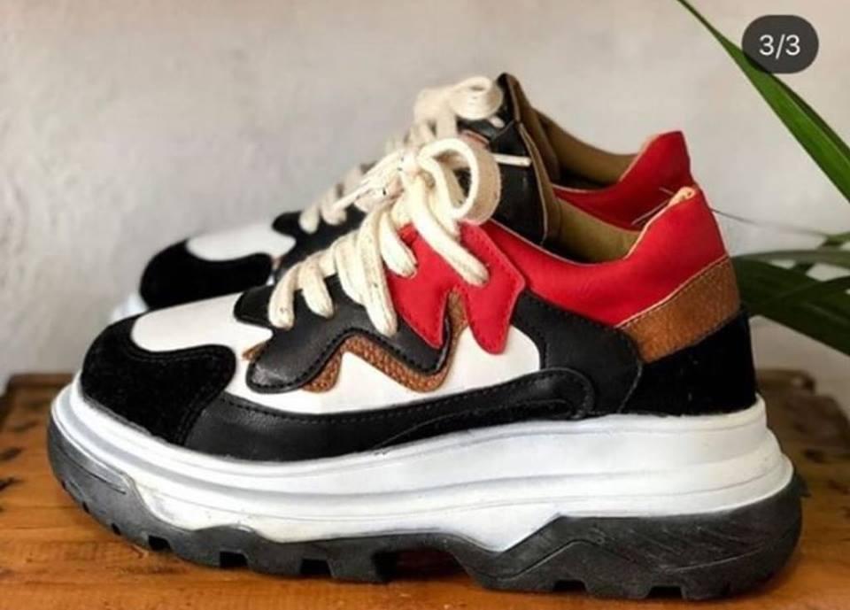 Zapatillas Sneakers Modelo Balenciaga Plataforma Moda 2019