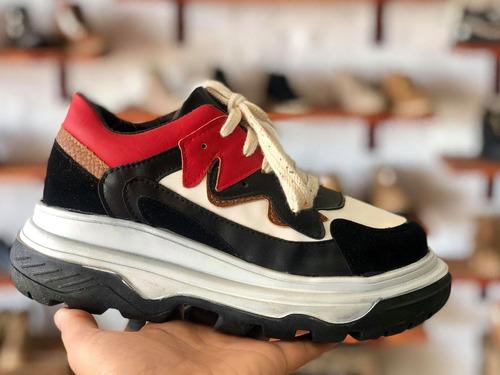 zapatillas sneakers modelo balenciaga plataforma moda