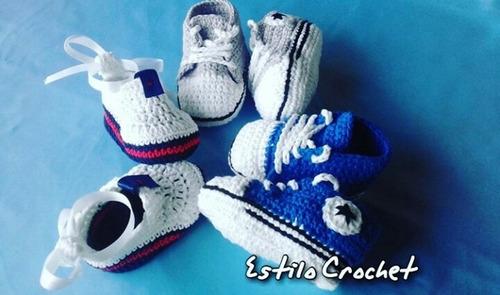 zapatitos bebe crochet