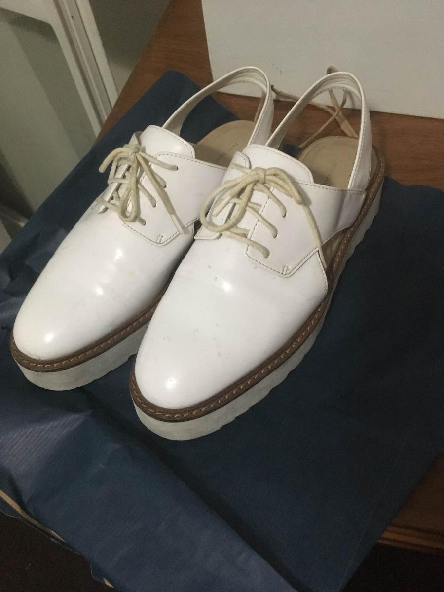 Zoom Zara Cargando Charol Blancos Zapato 48pnqRZx 67b5ec6f6fa9