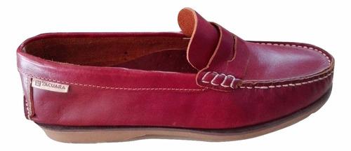 zapato cuero tacuara de hombre.