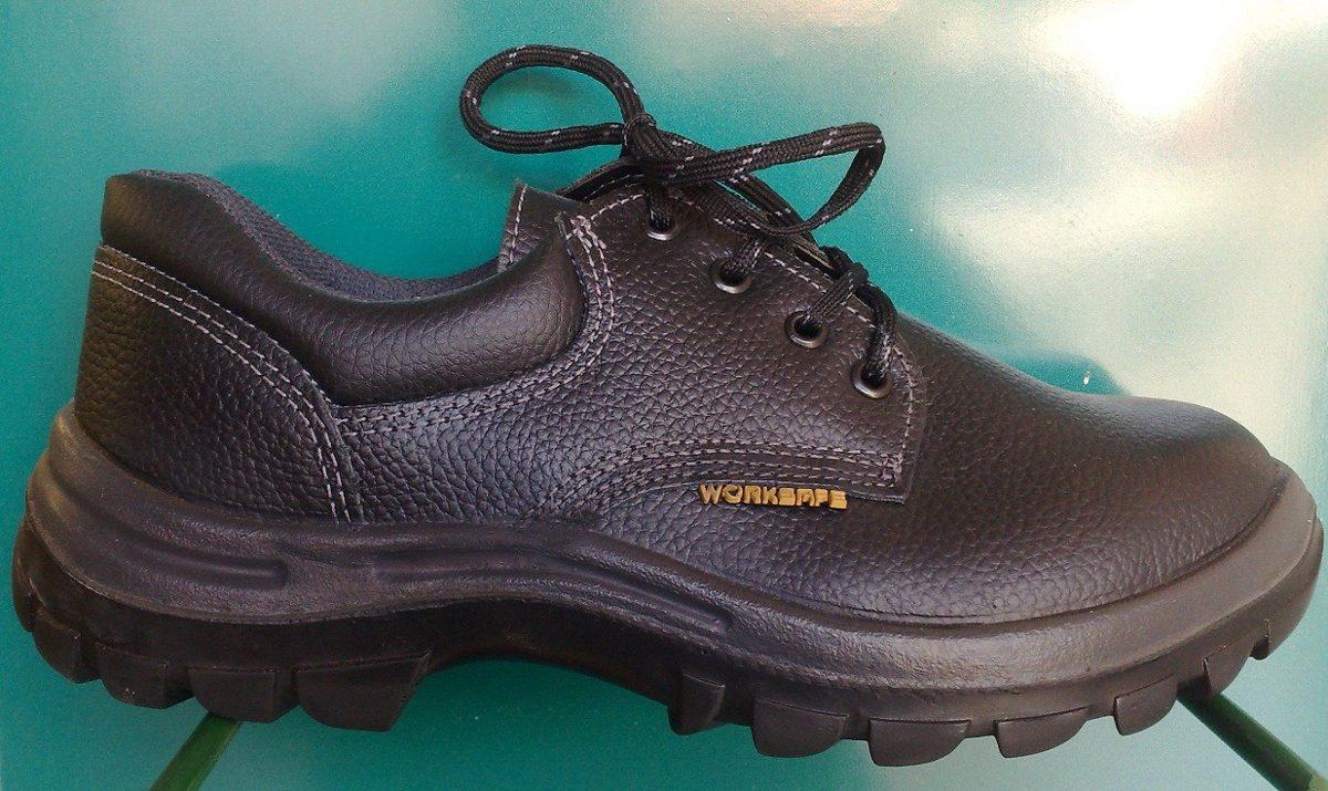 De Trabajo Worksafe 00 Plàstica Negro Zapato Cuero 190 Punta 1 fqvWWHn