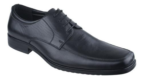 zapato de vestir acordonado de cuero hanker campus - toto