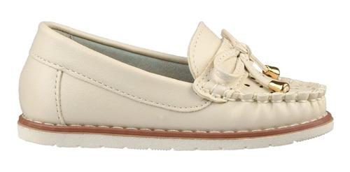 zapato mocasín guga con moña talles 20-25 - toto