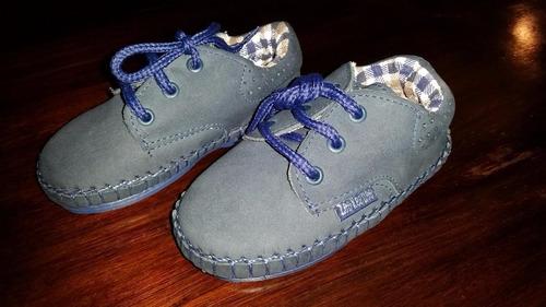 zapato nautico niño