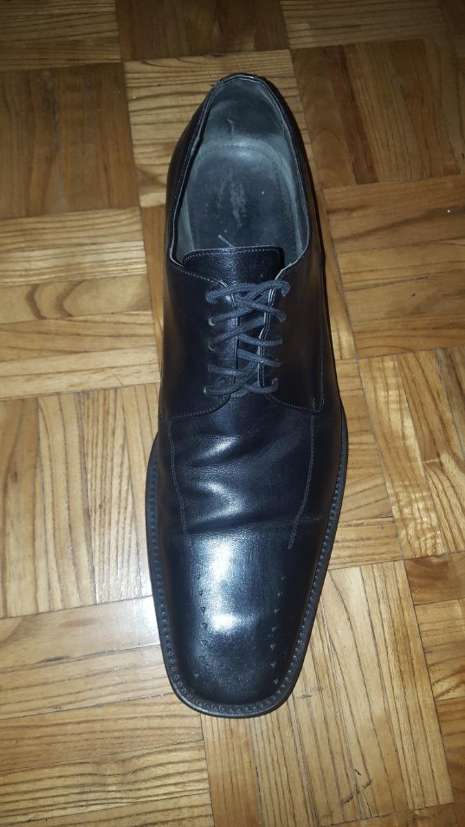 Zapatos Y Impecable De Cosida Moderno Zara Suela Cuero 43 r6qCr