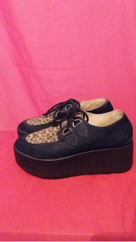 zapatos con plataforma