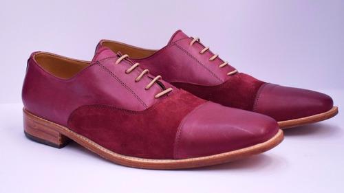 zapatos de cuero para hombre combinados