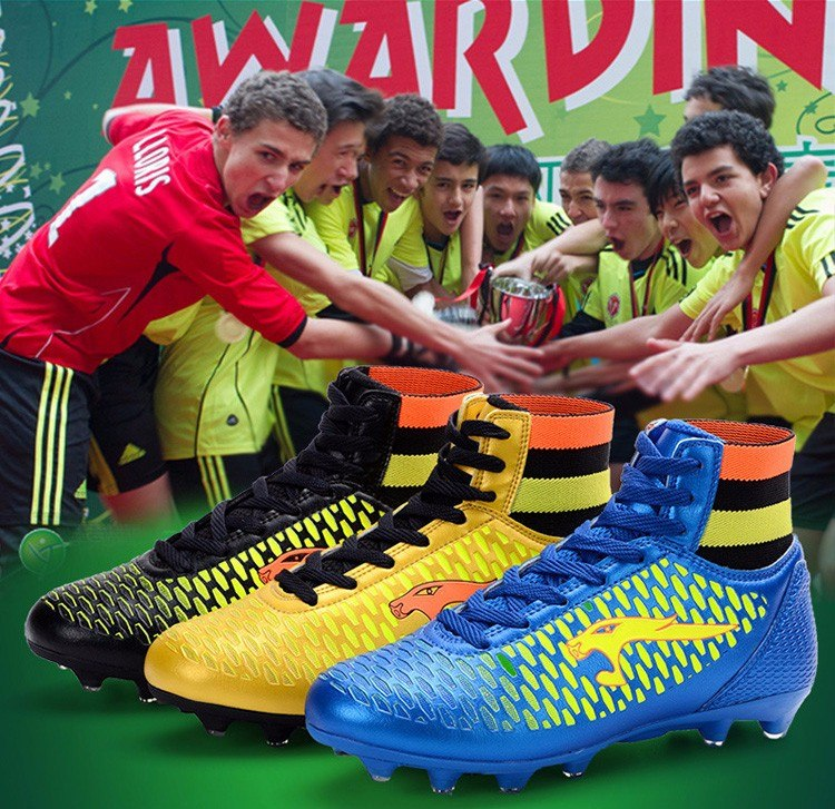 Zapatos De Futbol De Alto Tobillo 2019(por Encargue) - U S 79 55a9390834aa9