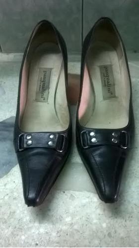 zapatos de taco para dama pasqualini número 40