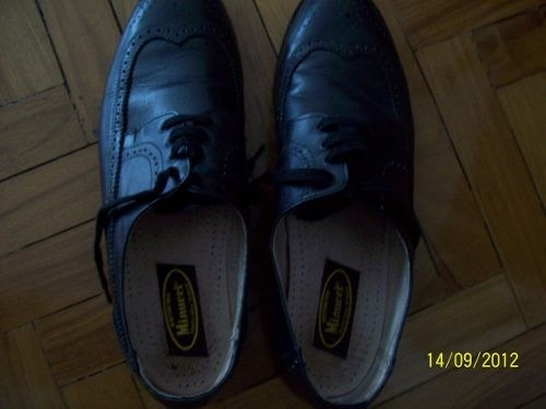 zapatos elegantes,casamientos, talle 42/43 botineria minucci