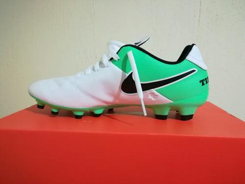 zapatos futbol nike tiempo genio leather ii fg
