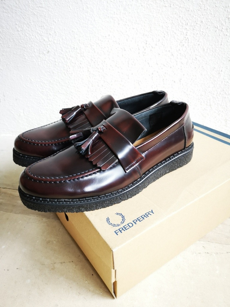 a415e658639 Zapatos Ingleses Fred Perry