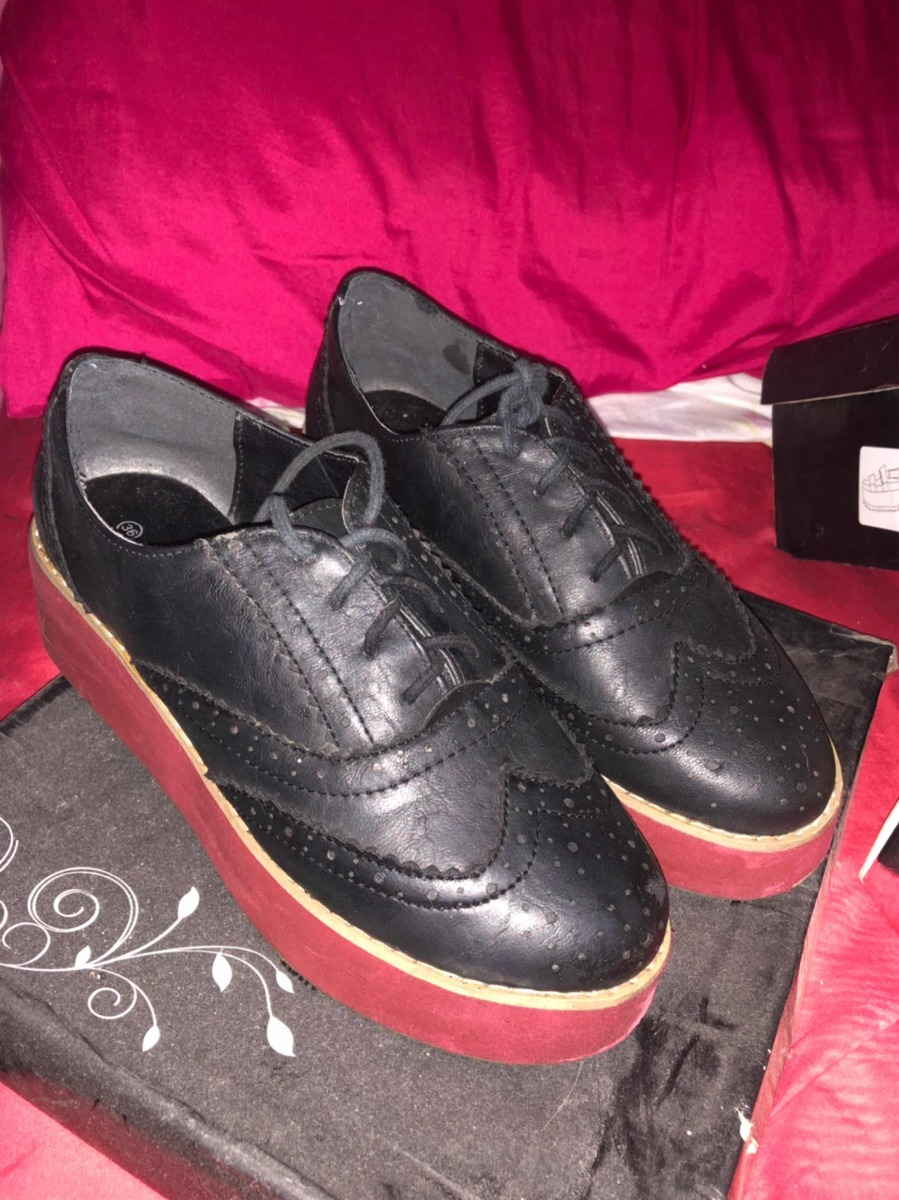 Con 00 Talle Negros Zapatos Rojo 36250 CxBoreWd