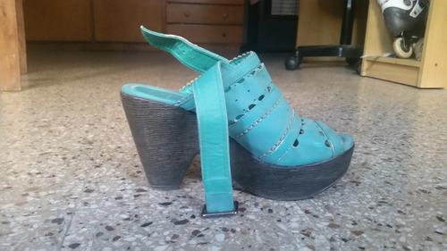 zapatos taco plataforma d.cassin