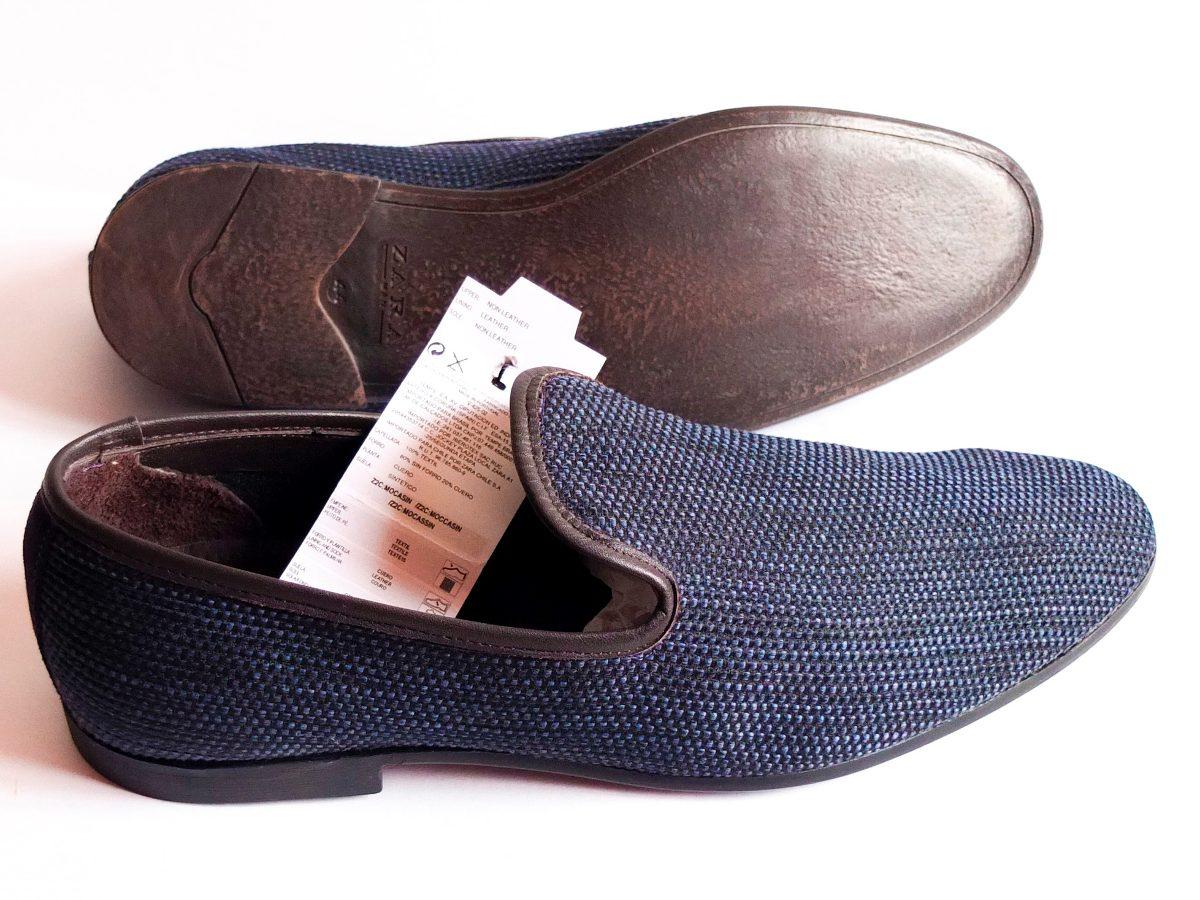 00 Zara 1 690 Talle En Nuevo Man T8qdzbxb Zapatos 44 Azules Europa xxF51qrw