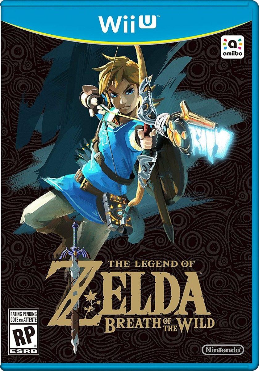 Zelda Breath Of The Wild Pack Juegos Digitales Para Wii U 980