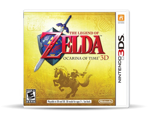 zelda: ocarina of time (nuevo) 3ds, físico, macrotec