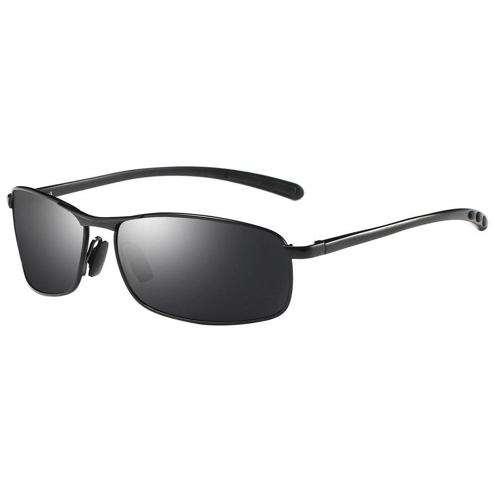 24f5bfa213 zhile rectangular polarizado gafas de sol al magnesio ale. Cargando zoom.
