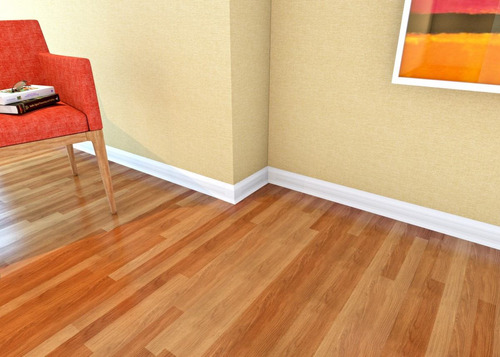 zócalos de pvc marrón para pisos
