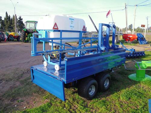 zorra pala rotativa pulverizadora fertilizadora trituradora