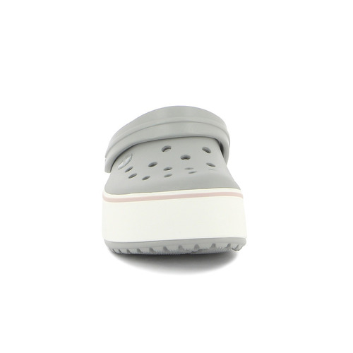 zueco de dama crocs band c/plataforma