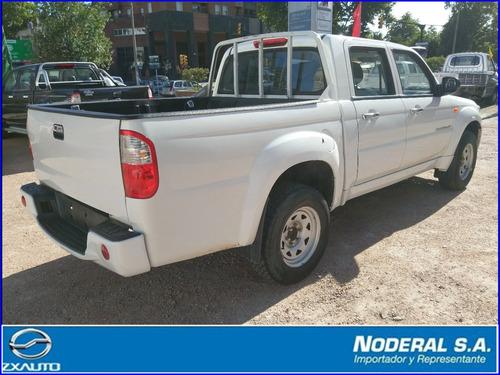 zxauto grandtiger 2.2 4x2 extra full doble cabina c/garantía